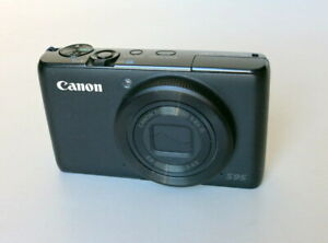 Canon S95 Digital Camera W Charger & Battery Great Condition