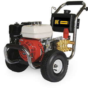 BE PRESSURE SUPPLY PE-2565HWSCOMSP Gas Pressure Washer2500 psiComet Pum