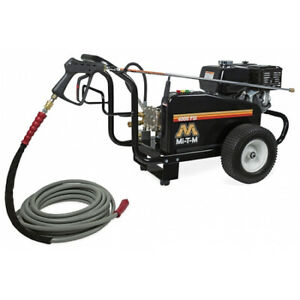 MI-T-M CW-4004-5MGH Cold Water Gas Pressure Washer4000 psi