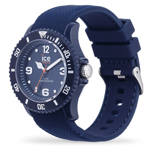 Ice Watch Unisex 007278 Ice Sixty Nine Dark Blue Watch Watch Silicone New Boxed