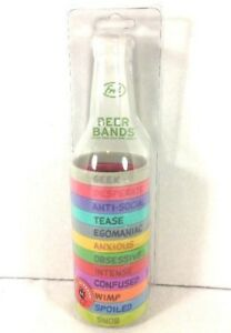 Fred Beer Bands 12 Colors amp; Personalities Stretch Bands Tailgating Parties fun