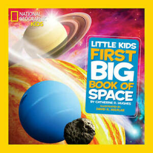 National Geographic Kids First Big Book of Space National Geographi VERY GOOD $4.09