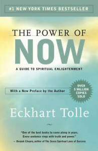 The Power of Now: A Guide to Spiritual Enlightenment Paperback GOOD