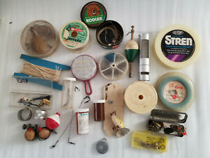 VINTAGE SMALL FISHING SUPPLIES MIXED WHOLESALE LOT