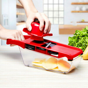 6 In 1 Blades Mandoline Slicer Fruit Vegetable Chopper Kitchen Cutter Tool 2020