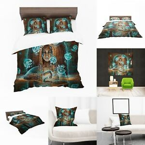 UK Made 3D Girl Jellyfish Design Print Duvet Covers or Tapestry or Cushions