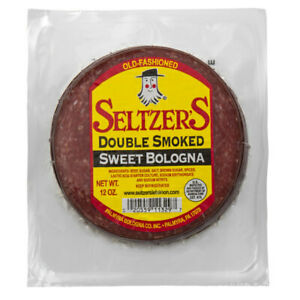 Seltzer's Double Smoked Sweet Bologna 12 Oz (6 Pack)