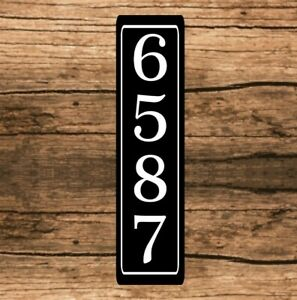 Personalized Home Address Sign Aluminum 3