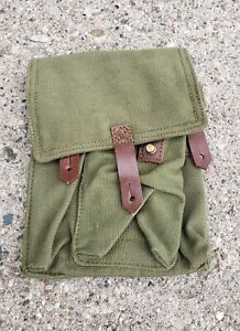 3 Cell Magazine Pouch Com Bloc Rifle Romanian Military Surplus New Old Stock $8.95