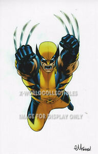 WOLVERINE ART PRINT SIGNED BY ED McGUINNESS 11quot;x17quot; $29.99