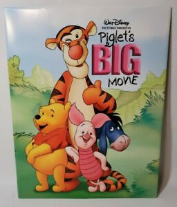 PIGLET#x27;S BIG MOVIE 14quot;x11quot; Lithograph Disney Winnie the Pooh $6.99