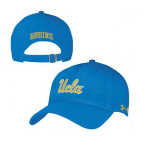 NEW Under Armour Classic Structured Adjustable Hat UCLA Bruins Blue Light Yellow $16.99