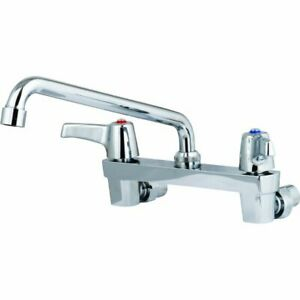 DELTA Sink Faucet 1.5 GPM 4.9 Spout 8 Center Chrome 2 Handles  $676.47
