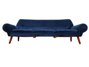 Danish top design sofa model 14 by Kurt Østervig 60s teak wood reupholstered