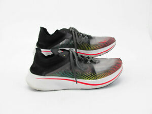 Nike Men Shoe Zoom Fly SP Fast Size 13M Athletic Running Sneaker Pre Owned jq