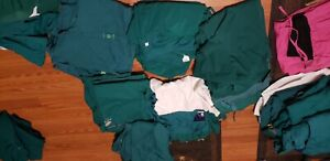 Lot of Hunter Green Scrubs - size XLpetite