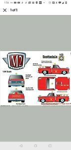 M2 Machines 1976 Chevy Silverado Scottsdale Fire Chief Limited. PREORDER