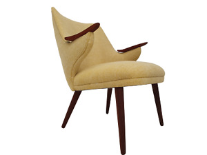 Danish design by Erling Olsen completely renovated - reupholstered 60s wool