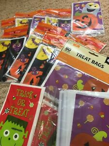 Trick Or Treat Halloween Bags Lot