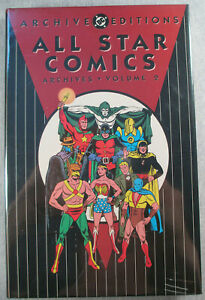 All Star Comics Archives Volume 2 DC Archive Editions HC Hardcover