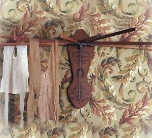 Victorian Trading Co Vintage Style Clothes Dryer Wall Mounted Drying Rack