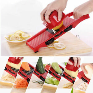 6/ in 1 Food Vegetable Salad Fruit Peeler Cutter Slicer Chopper Grater Dicer