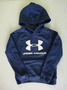 Under Armour Boy's Rival Logo Hoodie NWT 2020 $37.99