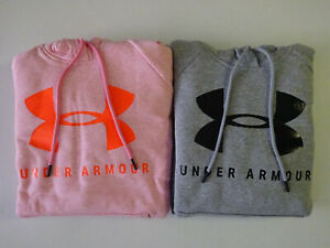 Under Armour Women's Rival Fleece Sportstyle Graphic Hoodie!! NWT $47.99