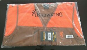 NEW SEALED BROWNING UPLAND HUNTING VEST LARGE FREE PRIORITY MAIL SHIPPING NICE