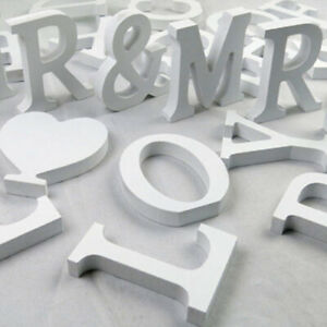 Freestanding Large 26 Wooden Wood Alphabet Letters Wall Hanging Nursery Decor.