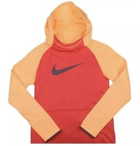 Girls Nike Therma Fit KO Pullover Hoodie 912987 850 Youth Size Large $17.99