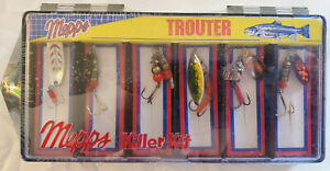 MEPPS TROUTER KILLER KIT AGLIA BLACK FURY Lures New Sealed