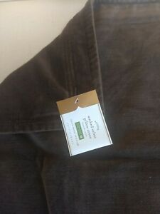 Pottery Barn NEW Washed Velvet Pillow Cover Espresso Brown 20 inch No Paper Tag