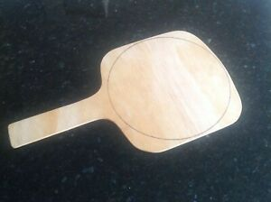 Perfect Size Wood Pizza Peel 1 4quot; Thin EZ SLIDE With 10.25quot; Estimating Circle