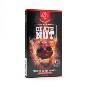 Death Nut Challenge 2.0 world's hottest Carolina Reaper peanuts spicy gift