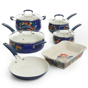 Cookware OPTIONS Pioneer Woman Dazzling Dahlias Floral Rustic Vintage SHIPS FREE