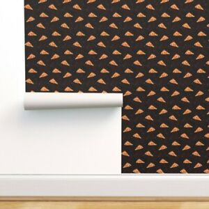 Peel-and-Stick Removable Wallpaper Cosmic Pizza Space Galaxy Pepperoni Stars