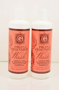 2 x Trader Joe's Fruit And Vegetable Wash 16 oz Each x Lot 2, New Sealed
