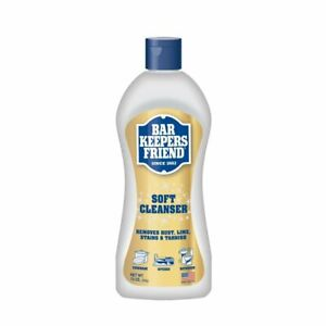Bar Keepers Friend Soft Cleanser for Stainless SteelPorcelainCeramicCopper