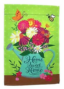 Home Sweet Home Garden Flag, Double Sided, 12