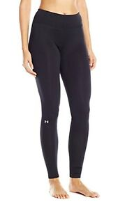 NEW Under Armour UA 1280943 Womens Base 1.0 Leggings Pants SMALL BLACK 001 $25.99