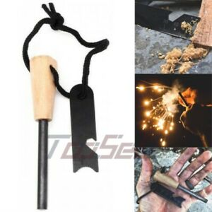 Magnesium Ferro Rod Fire Starter Emergency Ferrocerium Survival striker Flint