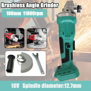 Cordless Lithium Battery Brushless Angle Grinder 20Volt MAX Cut-Off 11000 RPM US