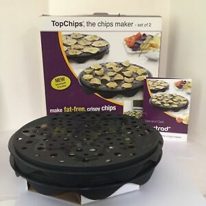 Top Chips Maker Set of two top chips maker trays by Mastrad (used 1x In Box)