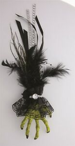 Victorian Trading Co Halloween Witch Hand Hair Clip 40D