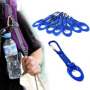 Water Bottle Holder Buckle Hook with Carabiner Clip Camping For Outdoor M7B7