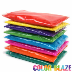 Color Blaze Powder Packets Set of 8 Holi Rangoli Color War Party Toss $17.95
