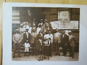 African American TEMPLE James Van Der Zee Institute Photo COPY FROM 1928