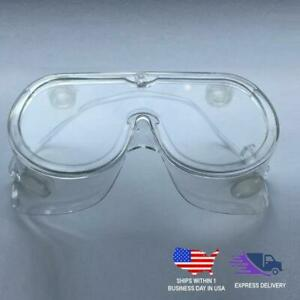 Adjustable Scratch Resistant Safety Goggles, Protective Eyewear With Anti Fog