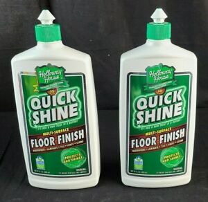 Holloway House Quick Shine Floor Finish, 27 Ounce 2 Pack